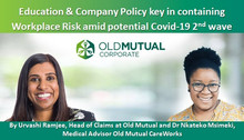 Education & Company Policy key in containing Workplace Risk amid potential Covid-19 2nd wave