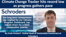 Climate Change Tracker hits record low as progress gathers pace