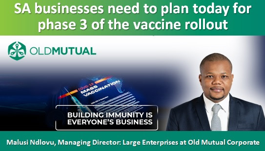 SA businesses need to plan today for phase 3 of the vaccine rollout