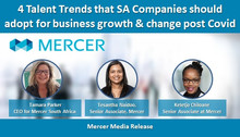 4 Talent Trends that SA Companies should adopt for business growth & change post Covid