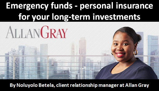 Emergency funds - personal insurance for your long-term investments