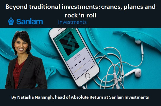 Beyond traditional investments: cranes, planes and rock 'n roll