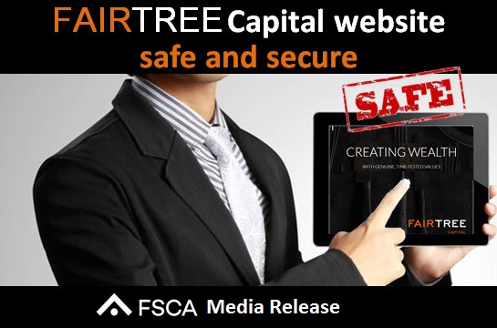 Fairtree Capital website safe and secure