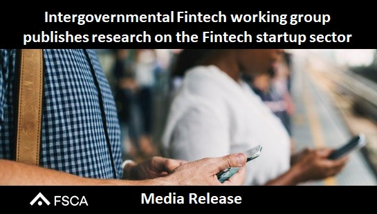 Intergovernmental Fintech working group publishes research on the Fintech startup sector