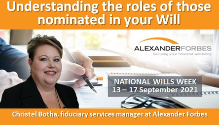 Understanding the roles of those nominated in your Will