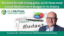 The time for talk is long gone, as SA faces most crucial Medium-term Budget in its history