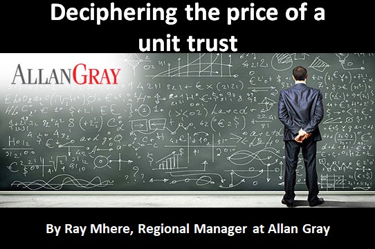 Deciphering the price of a unit trust