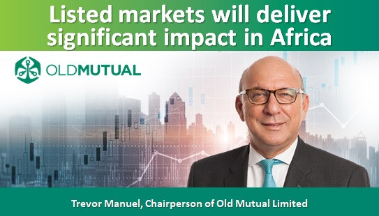 Listed markets will deliver significant impact in Africa
