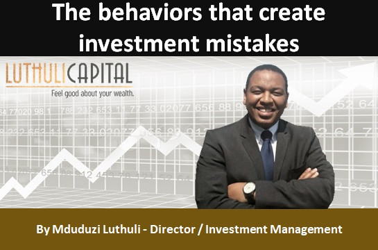 The behaviours that create investment mistakes