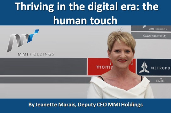 Thriving in the digital era: the human touch
