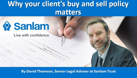 Why your client's buy and sell policy matters