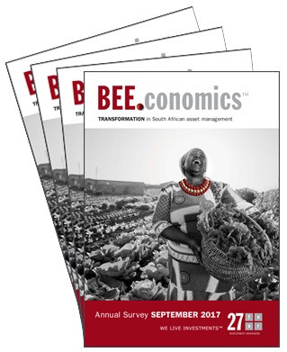 27Four BEE.conomics TRANSFORMATION in South African asset management