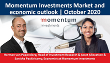 Momentum Investments Market and economic outlook | October 2020