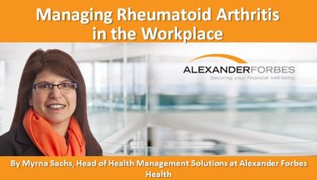 Managing Rheumatoid Arthritis in the Workplace