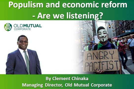 Populism and economic reform - Are we listening?