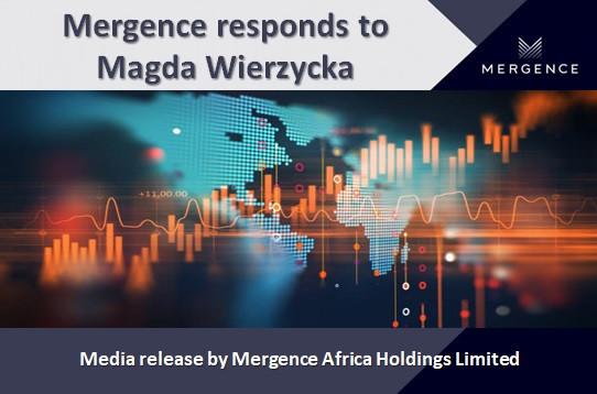 Mergence responds to Magda Wierzycka
