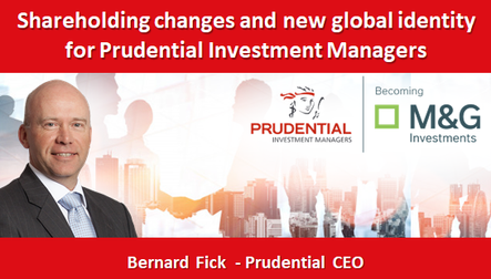 Shareholding changes and new global identity for Prudential Investment Managers