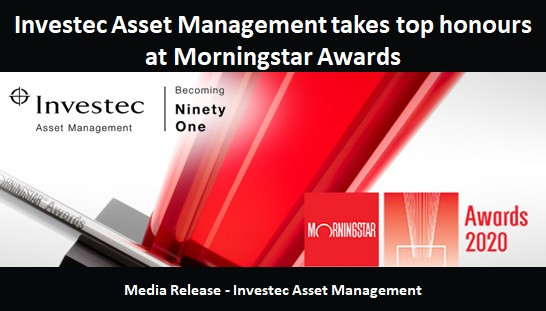 Investec Asset Management takes top honours at Morningstar Awards