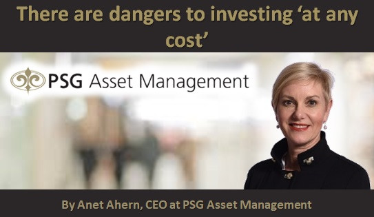 There are dangers to investing 'at any cost'