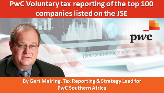 PwC Voluntary tax reporting of the top 100 companies listed on the JSE