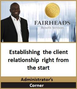 Establishing the client relationship rig