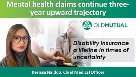 Mental health claims continue three-year upward trajectory