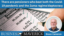 There are pensioners who beat both the Covid-19 pandemic and the Zuma regime kleptocracy