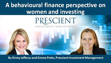 A behavioural finance perspective on women and investing