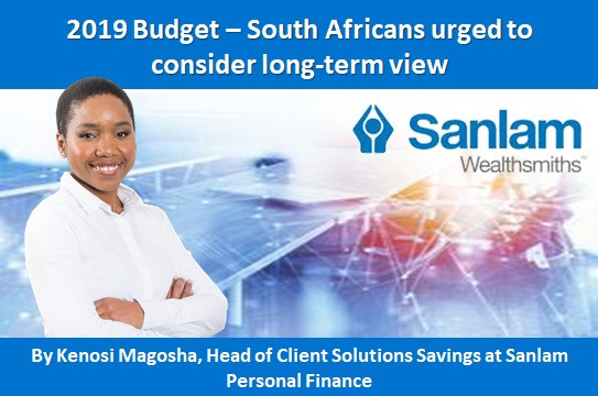 2019 Budget – South Africans urged to consider long-term view
