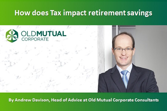 How does Tax impact retirement savings