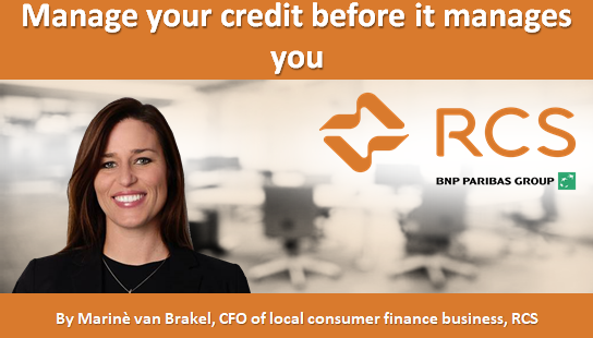Manage your credit before it manages you