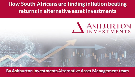 How South Africans are finding inflation beating returns in alternative asset investments