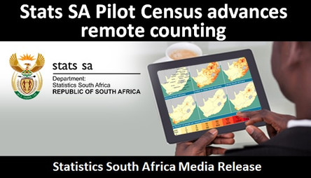 Stats SA Pilot Census advances remote counting