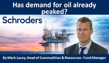 Has demand for oil already peaked?