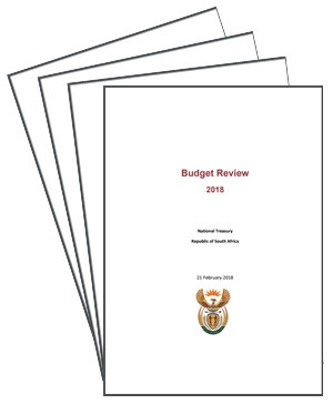 National Treasury Budget Review 2018