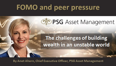 FOMO and peer pressure: The challenges of building wealth in an unstable world