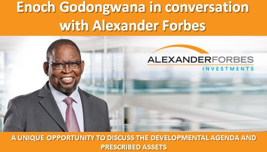 Enoch Godongwana in conversation with Alexander Forbes