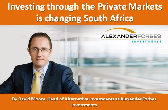 Investing through the Private Markets is changing South Africa