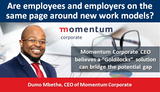 Are employees and employers on the same page around new work models?