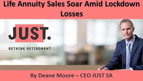 Life Annuity Sales Soar Amid Lockdown Losses