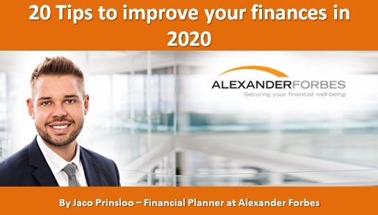 20 Tips to improve your finances in 2020