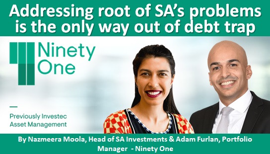Addressing root of SA's problems is the only way out of debt trap