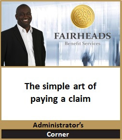 The simple art of paying a claim
