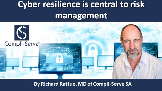 Cyber resilience is central to risk management