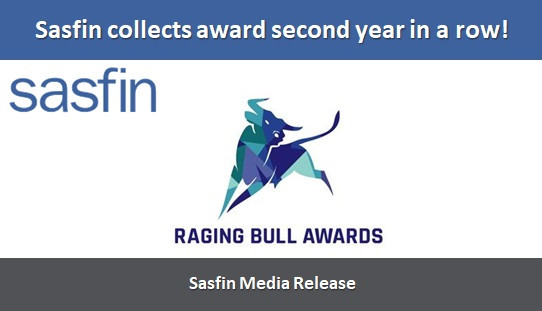 Sasfin collects award second year in a row!