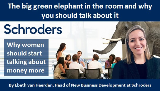 The big green elephant in the room and why you should talk about it