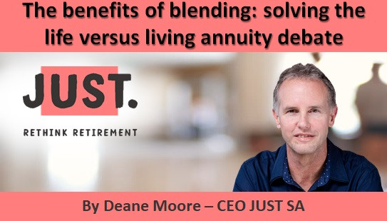 The benefits of blending: solving the life versus living annuity debate