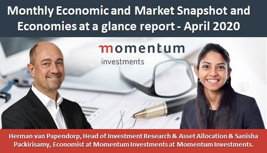 Monthly Economic and Market Snapshot and Economies at a glance report - April 2020