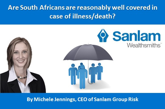 Are South Africans are reasonably well covered in case of illness / death