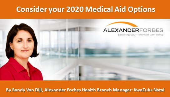 Consider your 2020 Medical Aid Options